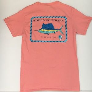 Simply Southern Pink Shirt Size Small